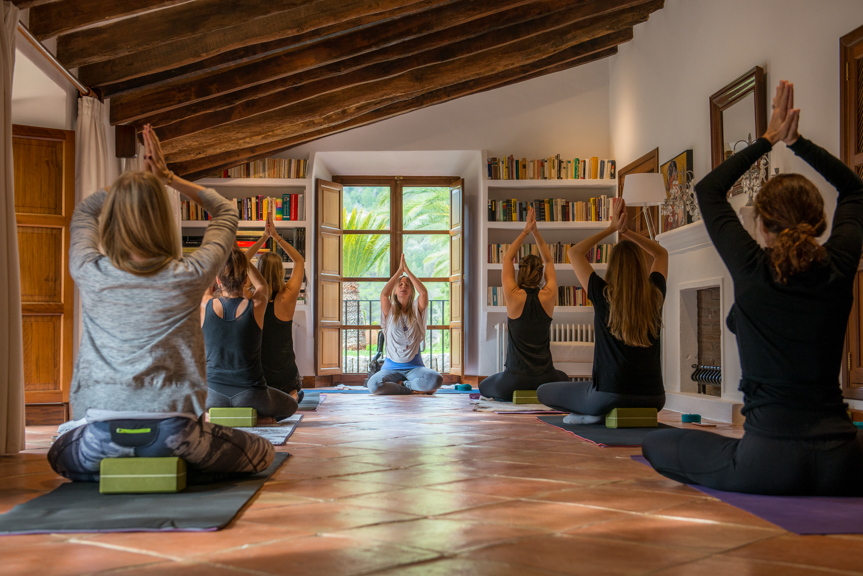Yoga at Son Salas